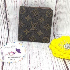Louis Vuitton Monogram Bifold Men's Wallet